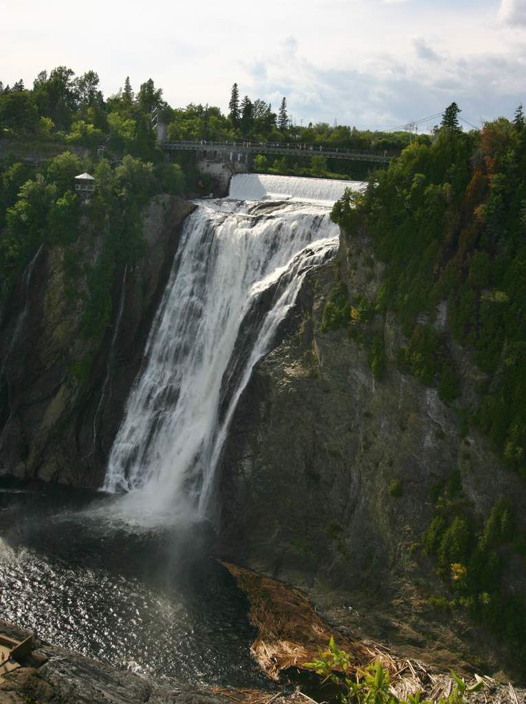 Chute  Montmorency Quebec Canada