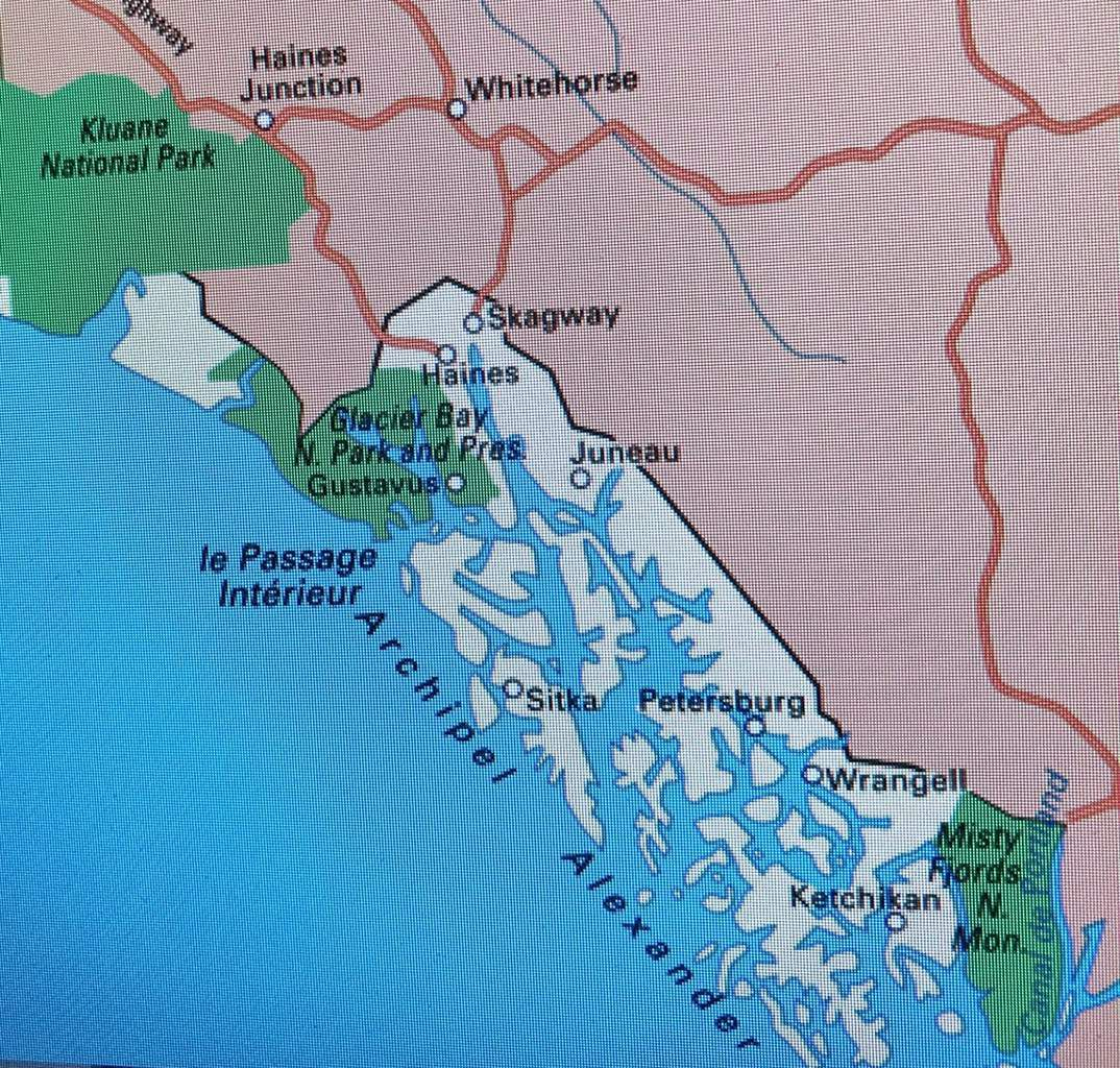 Glacier Bay national park - Alaska