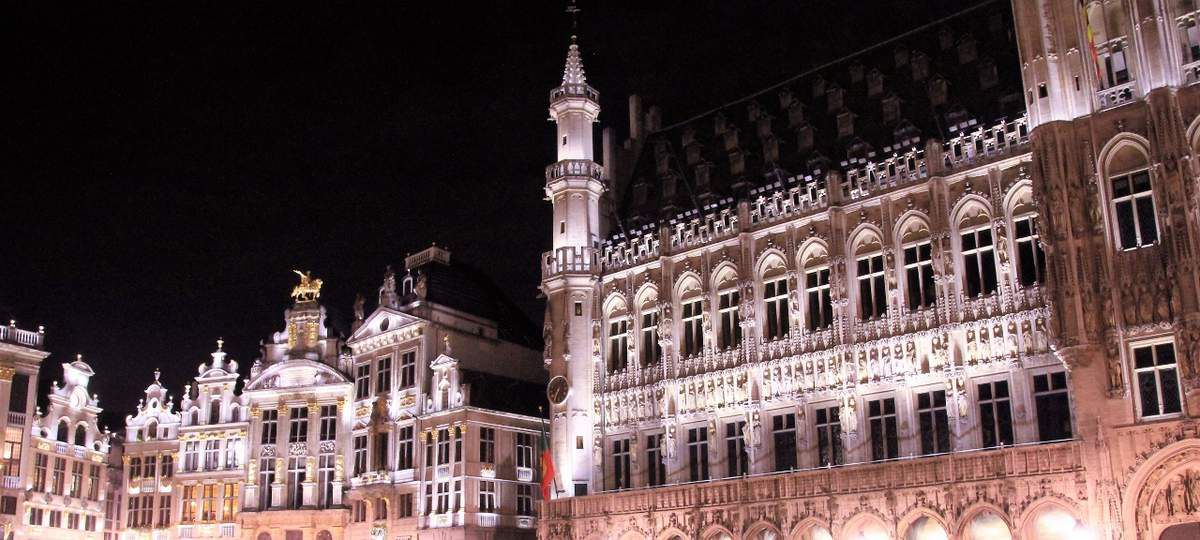 Grand'place by night Bruxelles