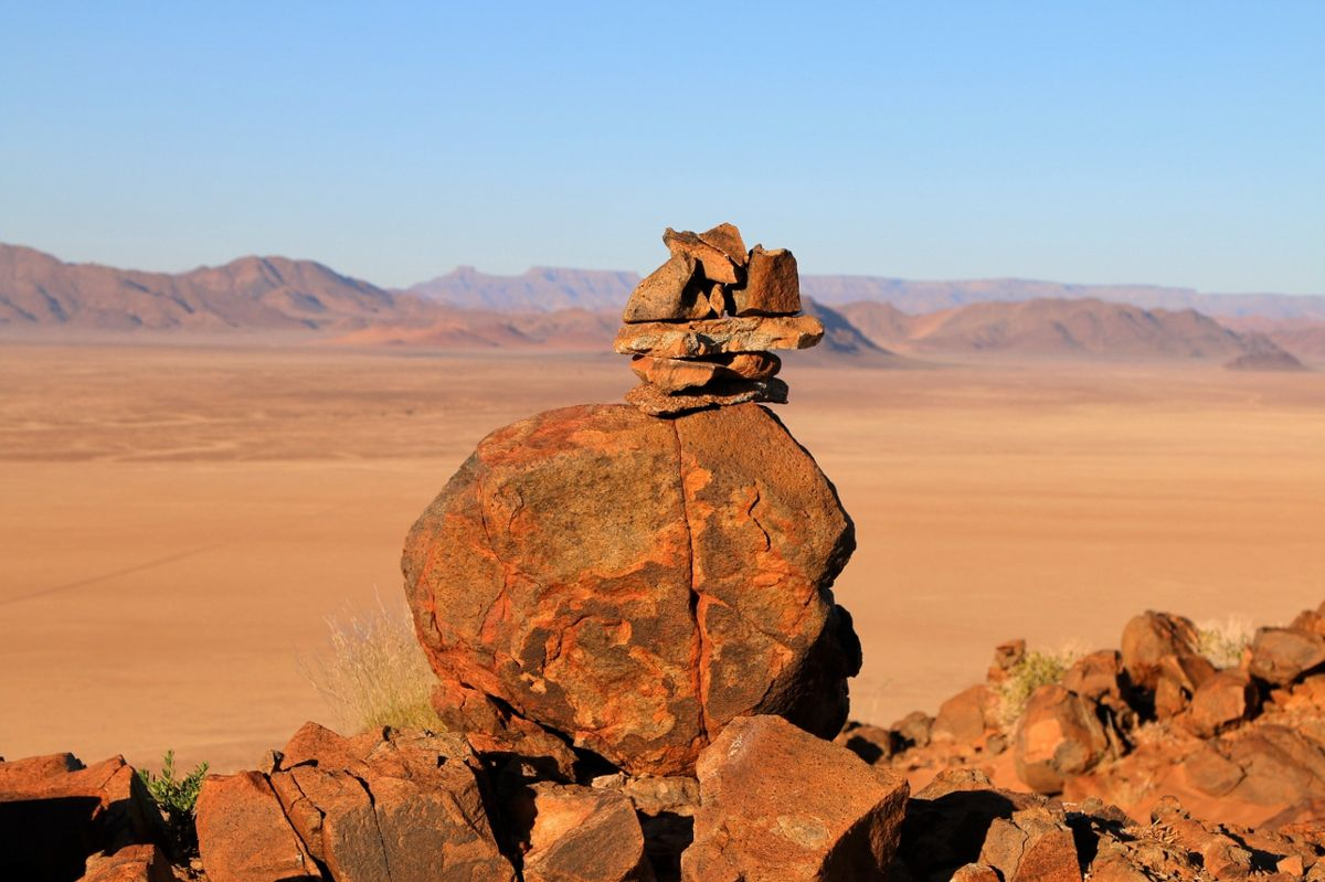 Quad dans le désert de Namib - Namibie