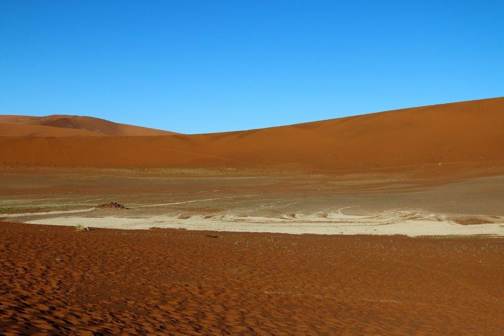 Les dunes rouges - Désert de Sossusvlei Namibie