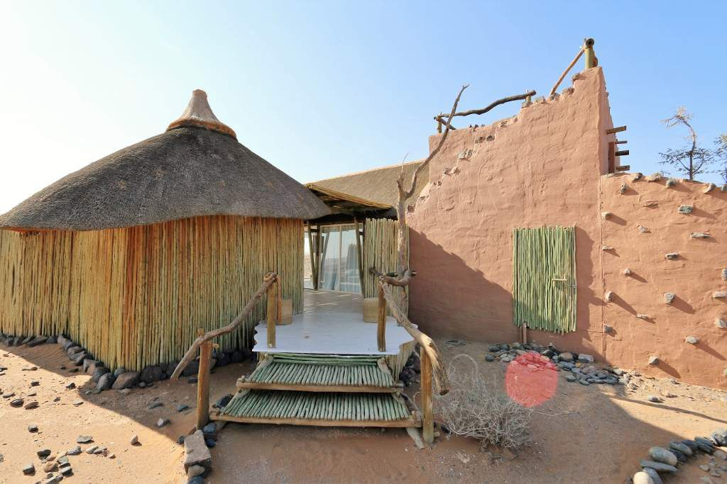 Bungalow au Little Kulala lodge - Namibie