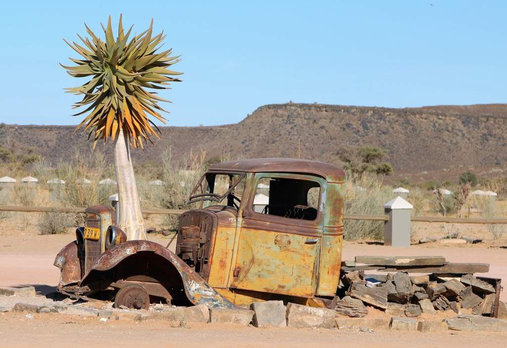 Gondwana roadhouse canyon Namibie