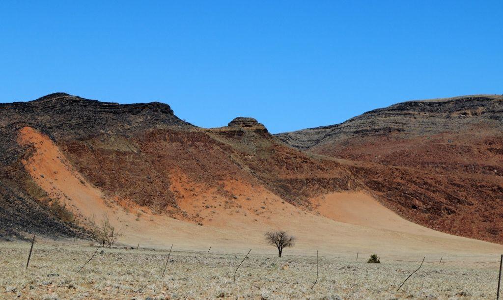 Pistes, extrême Sud de la Namibie