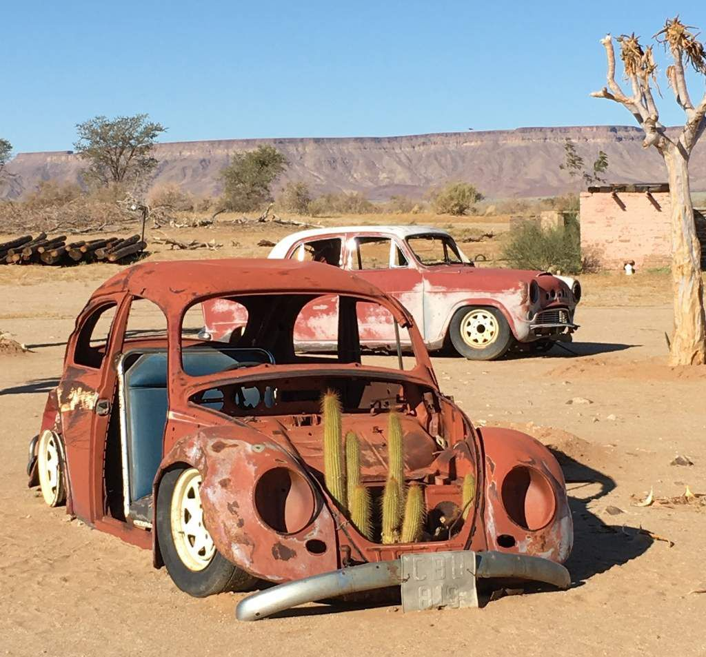 Autos insolites en Namibie