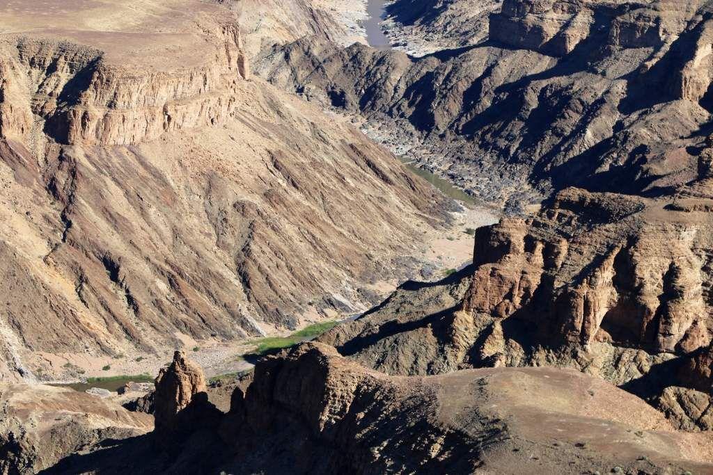 Fish river canyon en Namibie