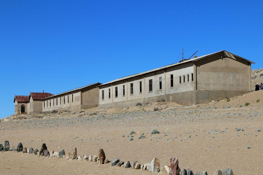 Kolmanskop village fantôme Namibie