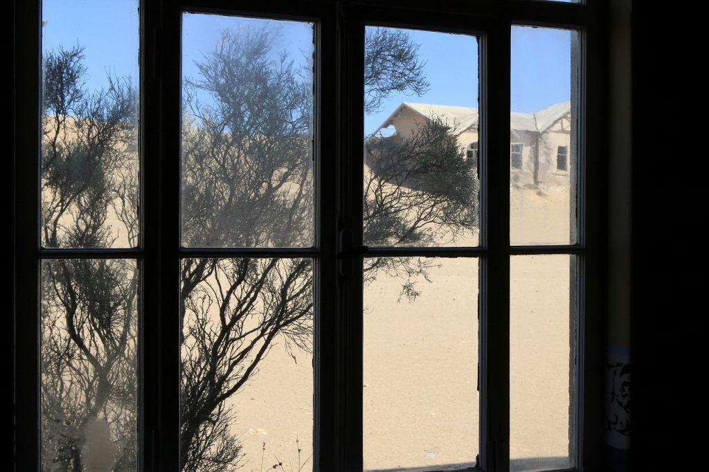 Kolmanskop village fantôme de Namibie, les chambres