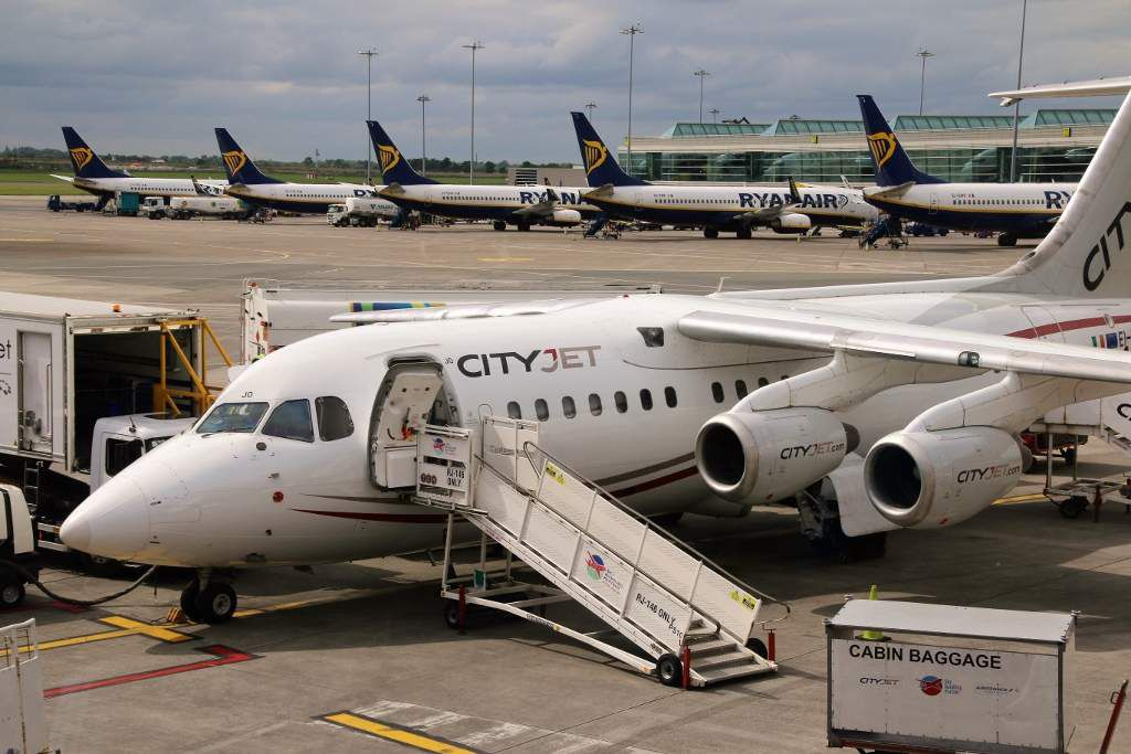 City jet - Irlande