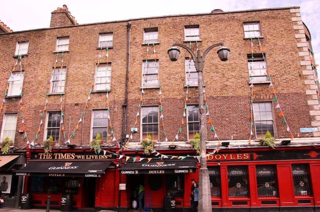 133 Dublin quartier Trinity College