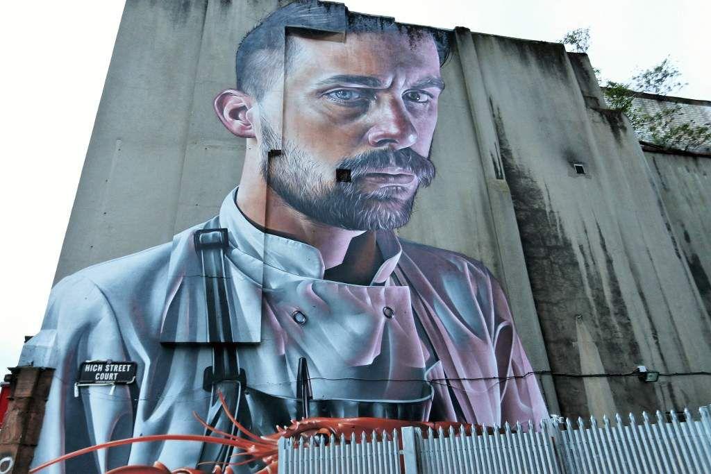 Belfast, street art  Irlande du Nord