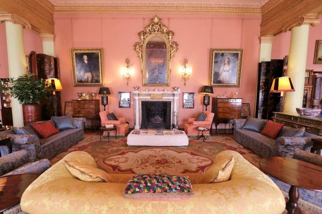 Mount Stewart house : Salons Irlande du Nord
