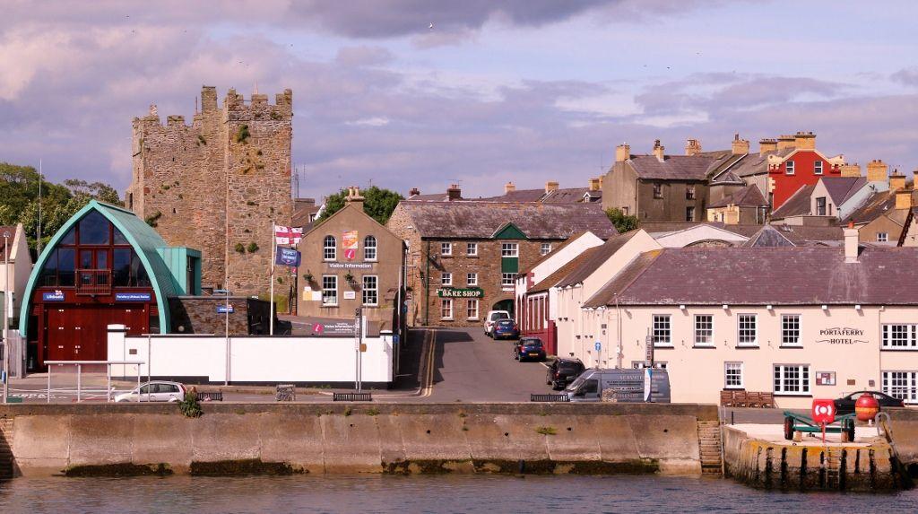 Stantgford à Portaferry en ferry Irlande du Nord