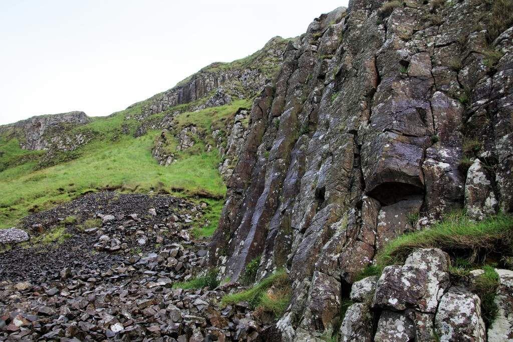 Colonnes en basalte Chaussée des Géants Irlande du Nord