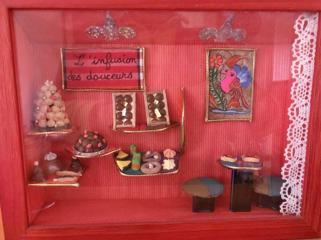 Exposition vitrines miniatures Hôtel Reio plaza TOKYO