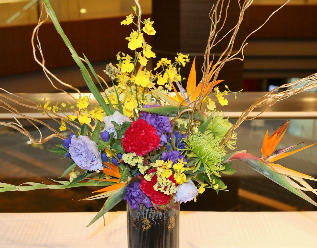 Exposition de fleurs Hôtel Reio plaza TOKYO