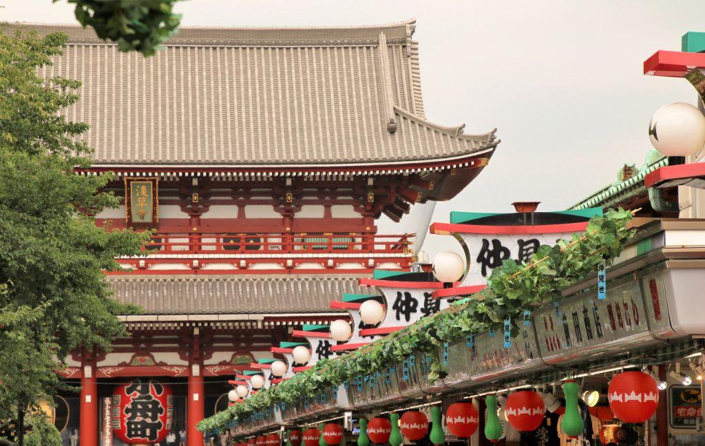 Temple Senso-Ji Tokyo Japon