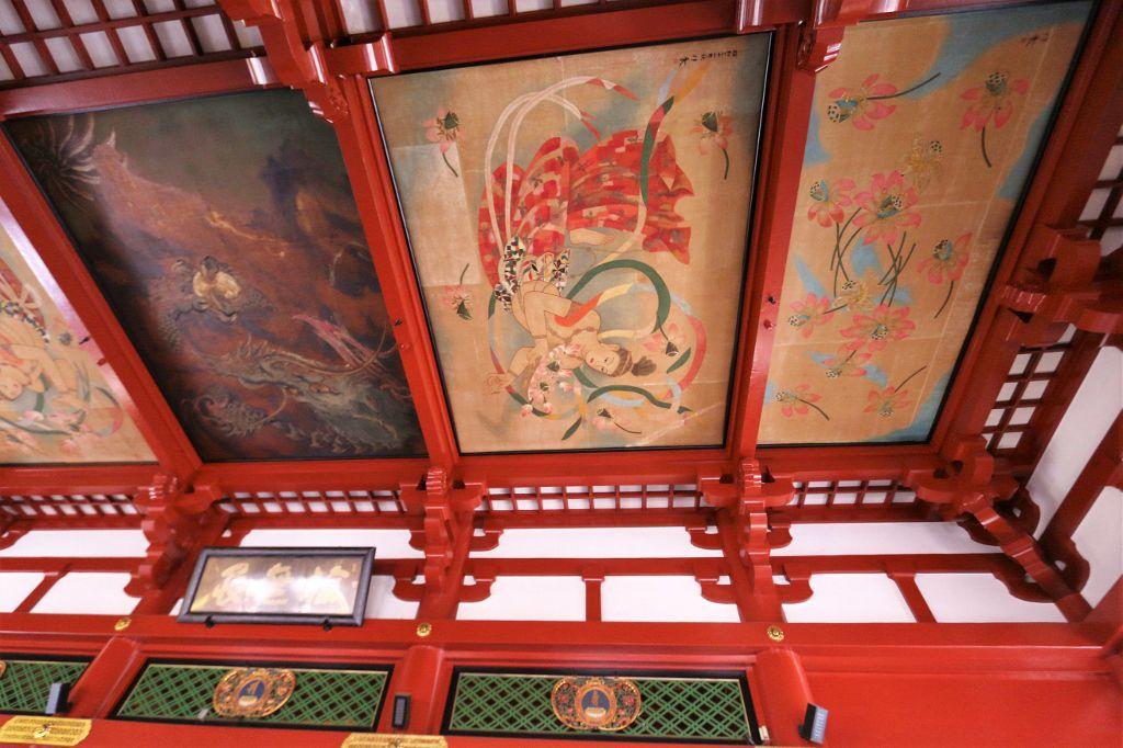 Intérieur du temple Senso-Ji Tokyo Japon