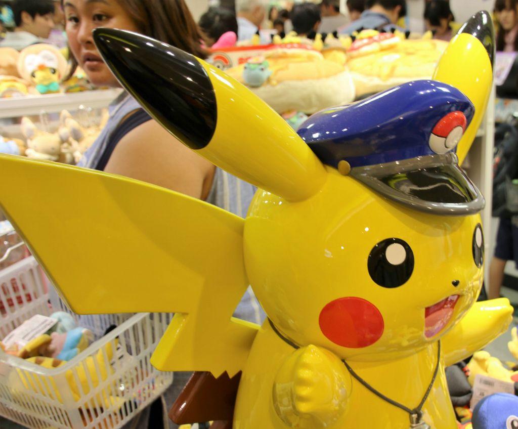 Pokemon store Tokyo Japon
