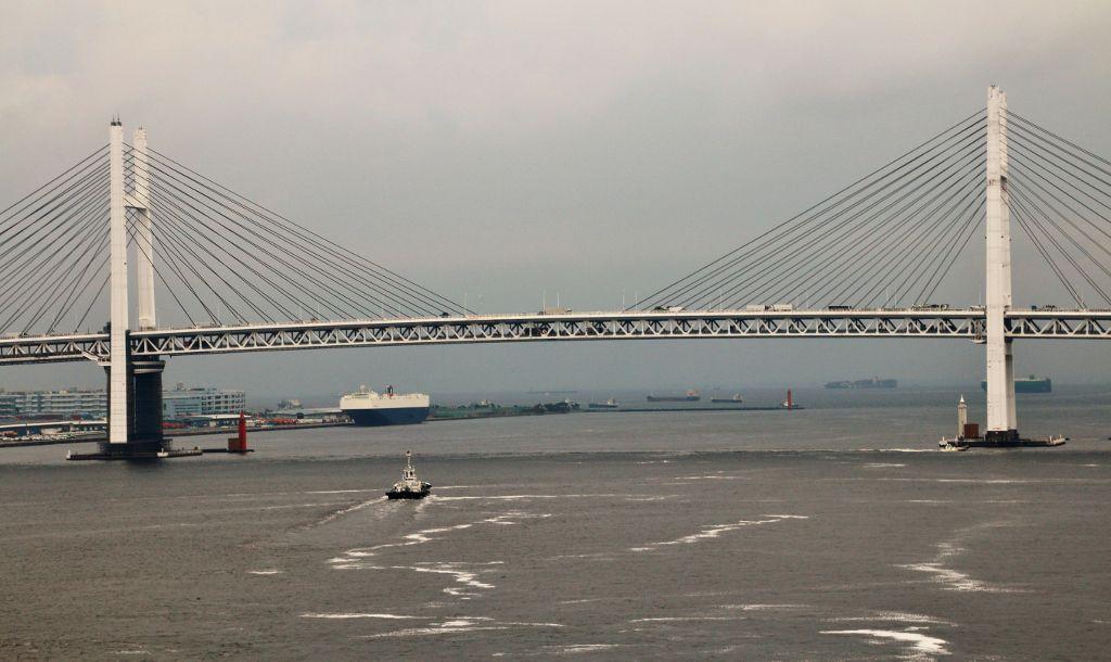 Port de Yokohama Japon