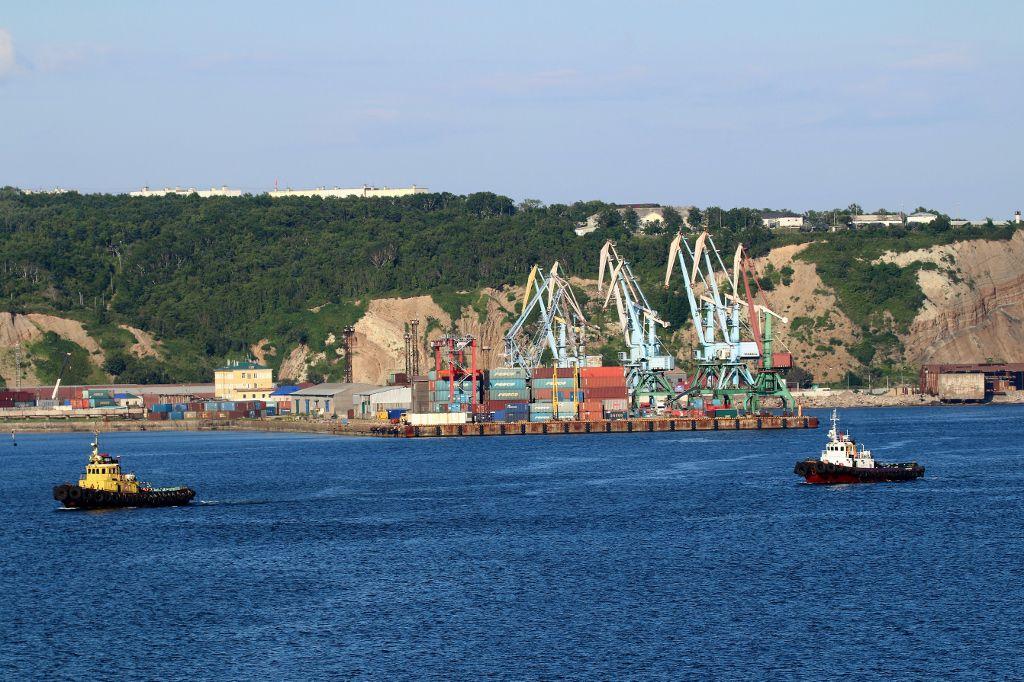 Port de Korsakov Sakhaline Russie