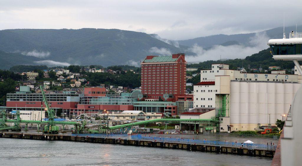 Port d'Otaru ile de Hokkaido Japon