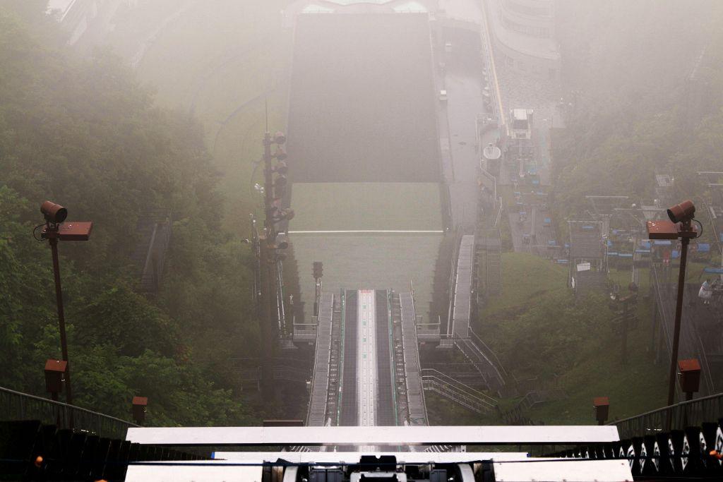 OKURAYAMA le tremplin ski JO Sapporo JAPON