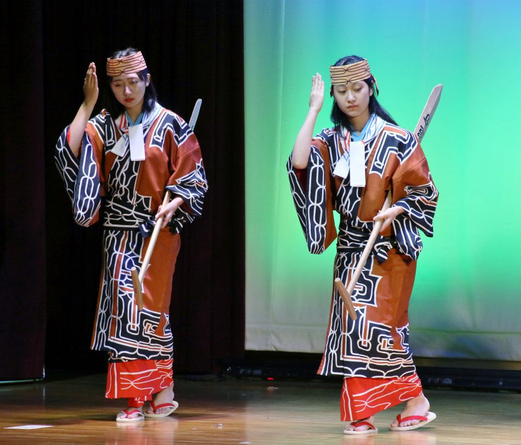 Esachi Oiwake music  Hokkaido Japon