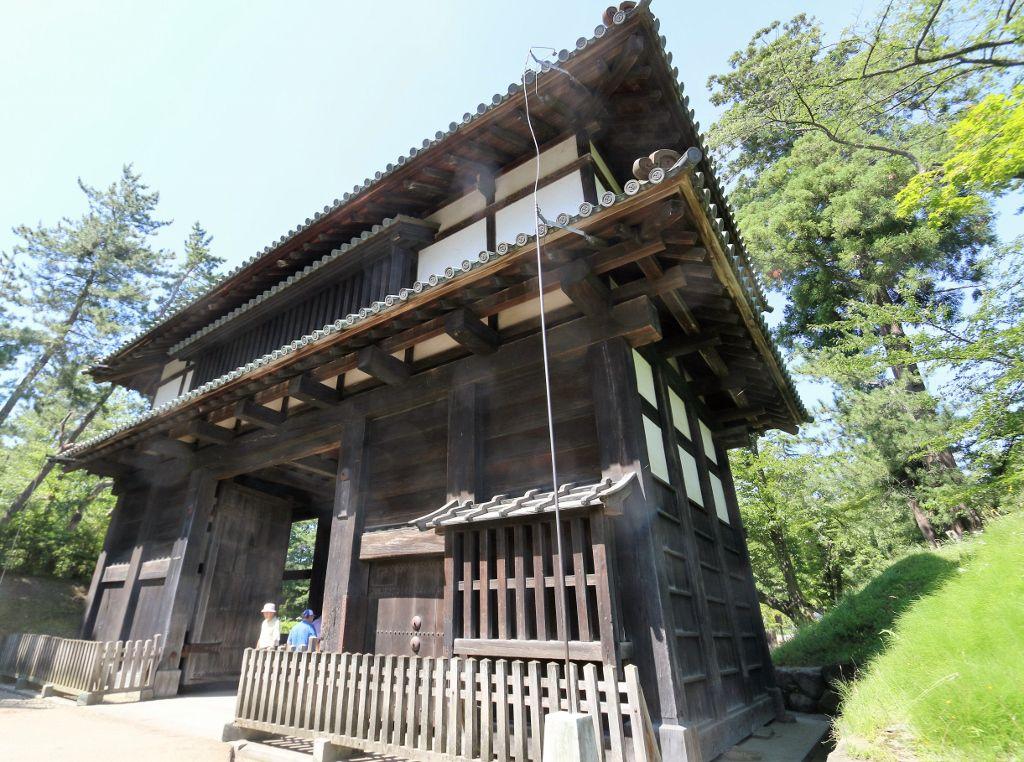 Château Hirosaki Japon ile Honshu