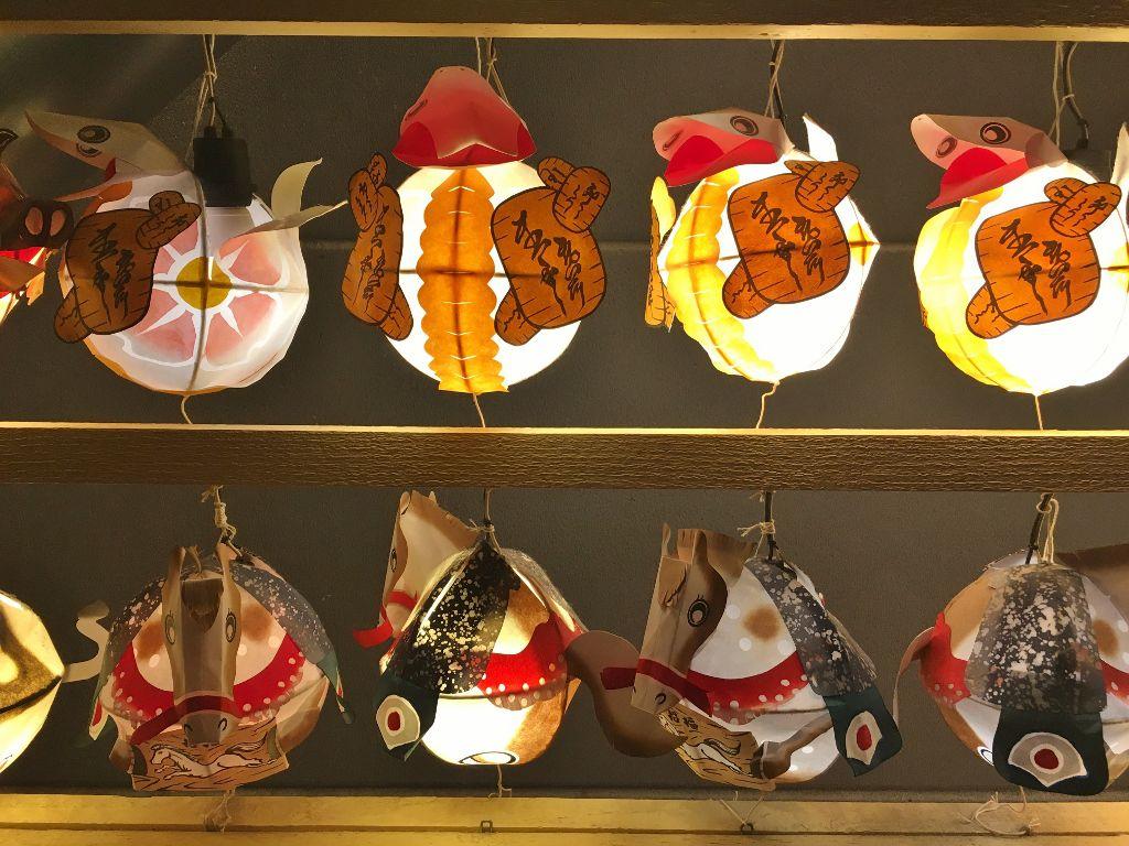 Les chars du festival Nebuta Hirosaki ile Honshu Japon