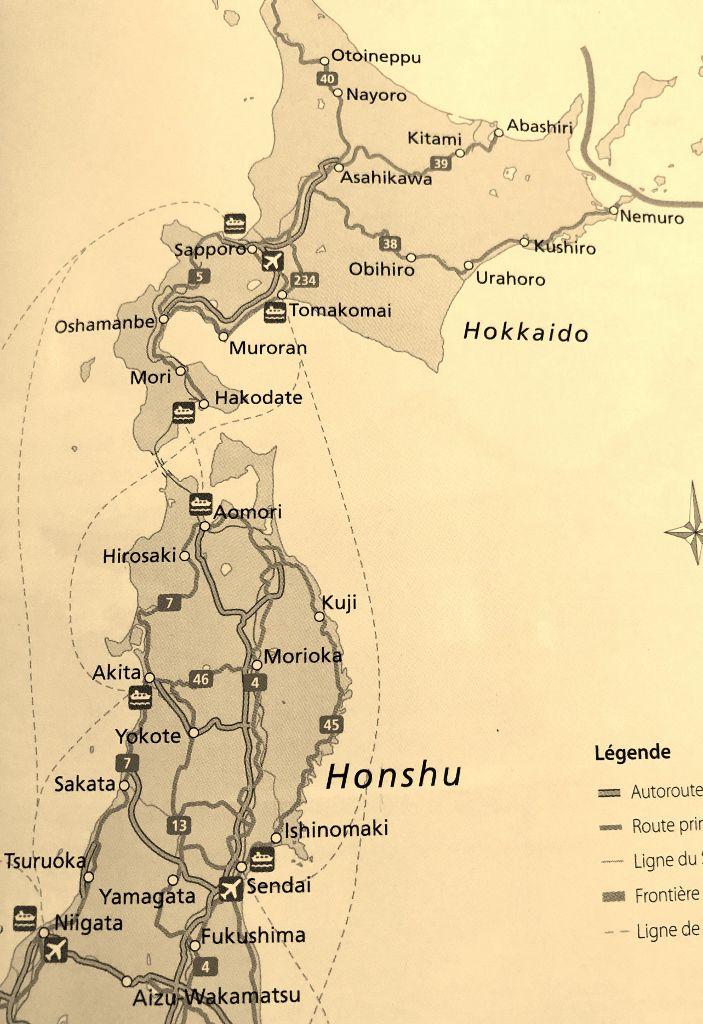 Port d'Akita Ile Honshu Japon