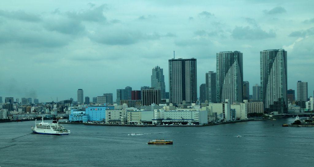 Baie de Tokyo ile Honshu Japon