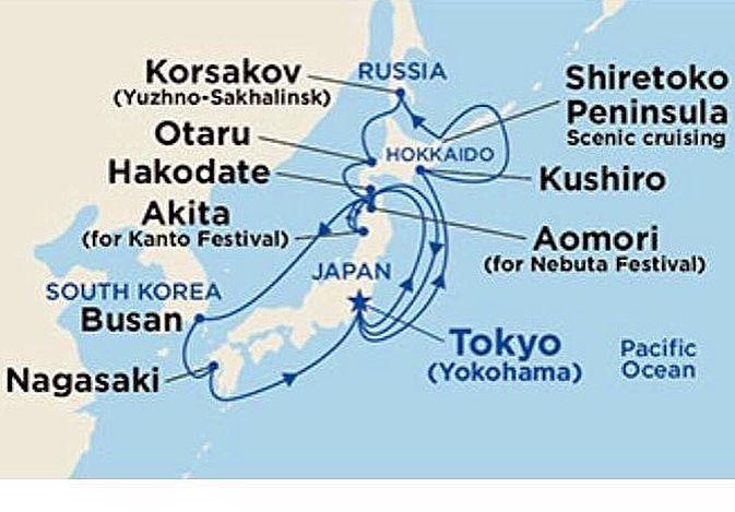 Festival Nebuta Hirosaki ile Honshu Japon