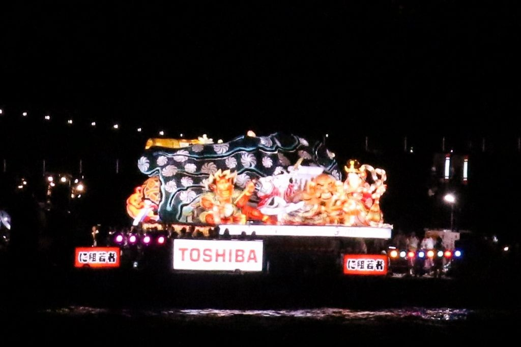 Festival Nebuta Aomori Ile Honshu Japon