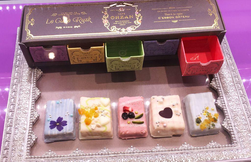 Chocolats japonais à la française