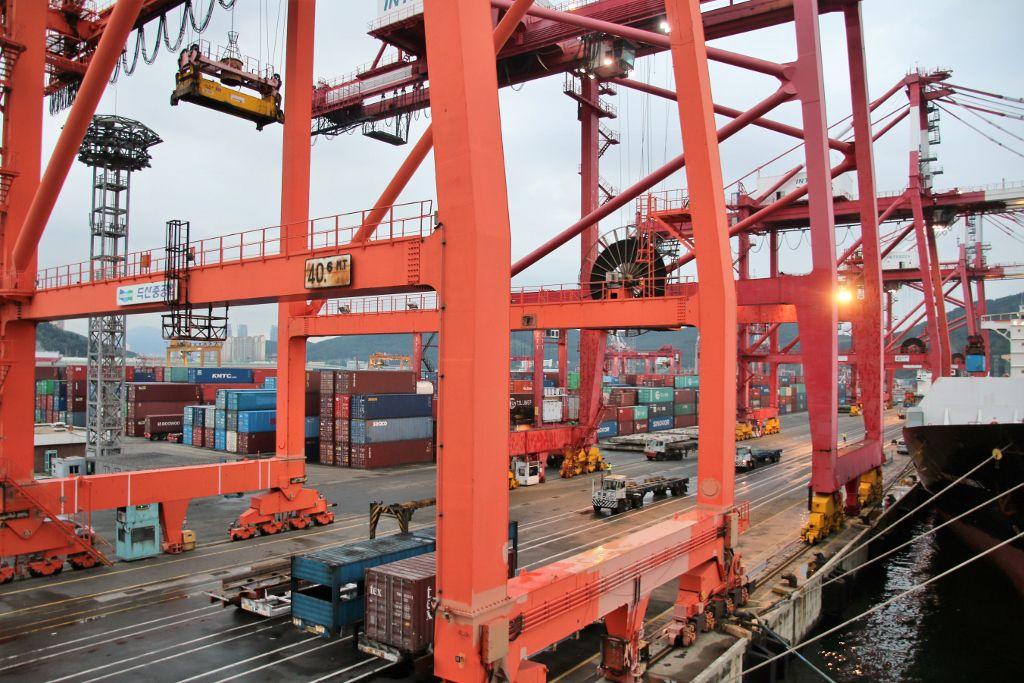 Port de Busan Corée du Sud