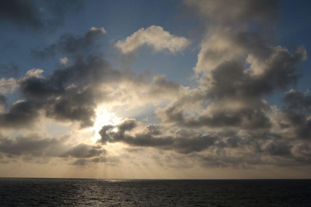 Soleil sur l'ile Kyushu Japon