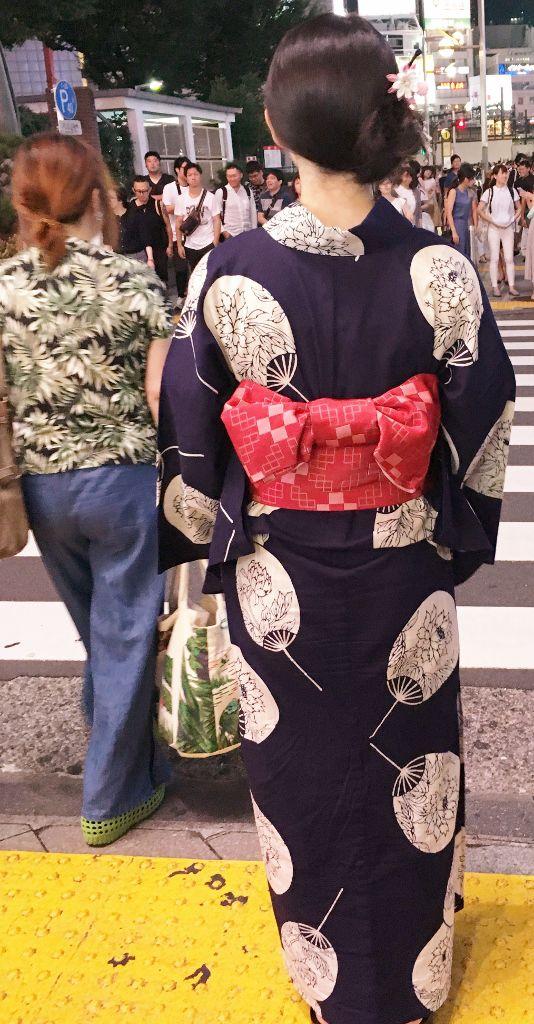 Kimono au Japon