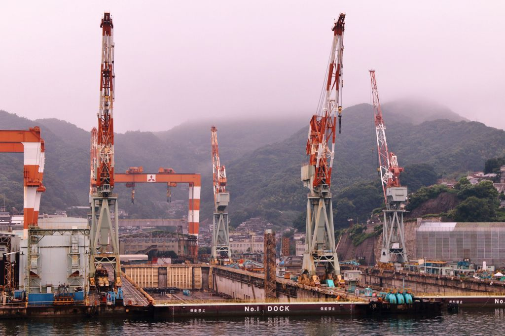 Nagasaki port Japon
