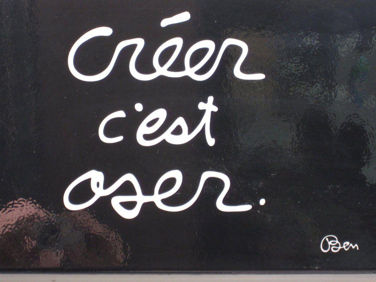 creer ,  c'est oser (fin)