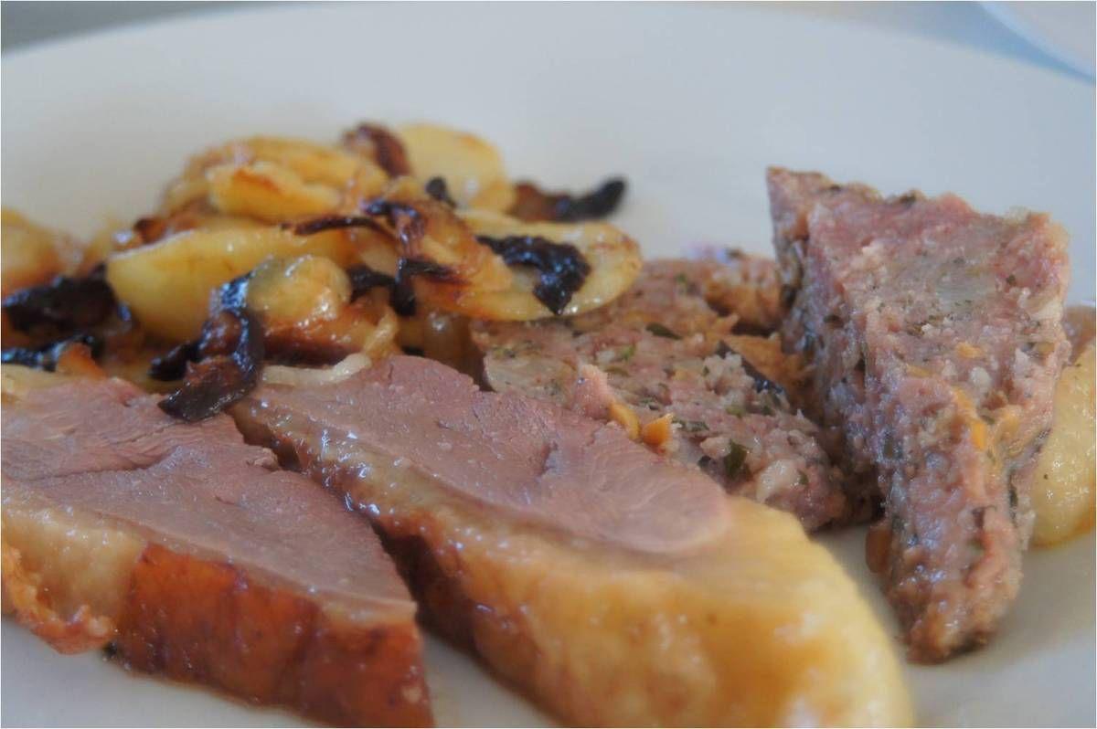 Canard du Périgord farce au foie gras
