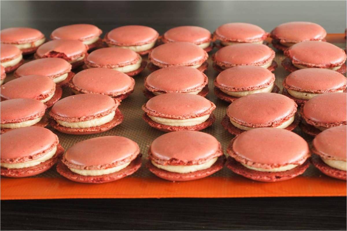 Macarons chocolat foie gras