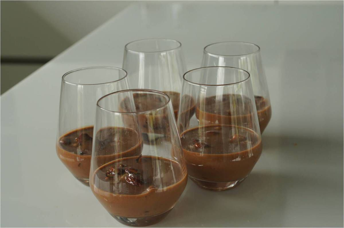 Verrine gourmande au Gianduja