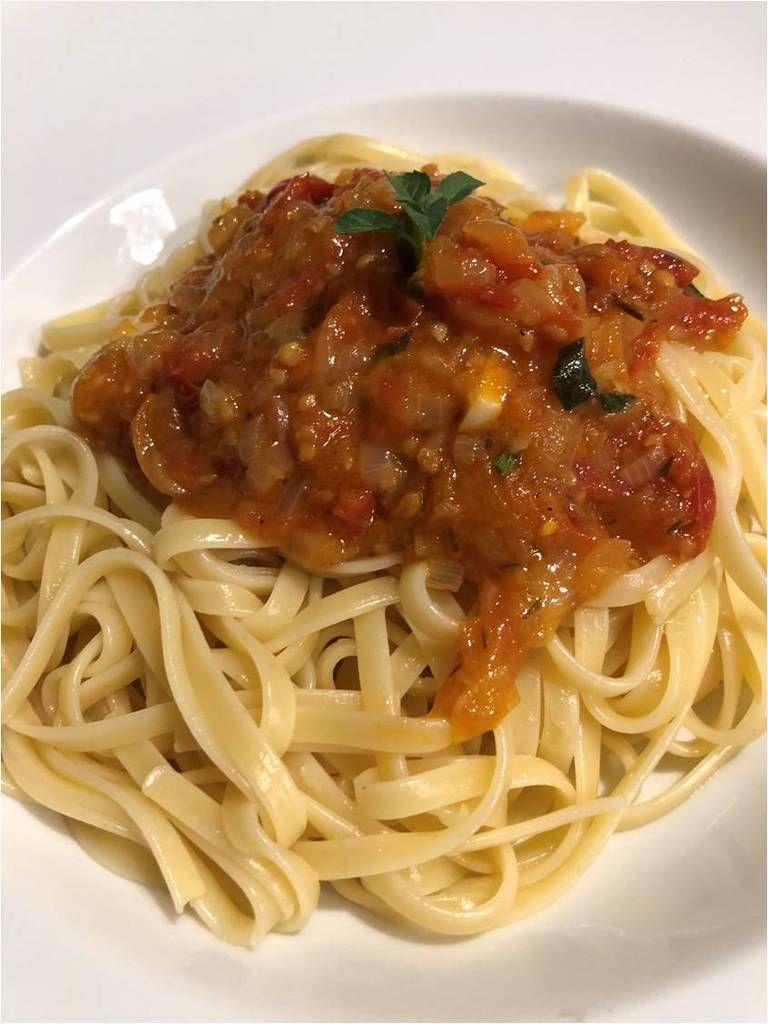 Les linguine à la tomate de Gégé