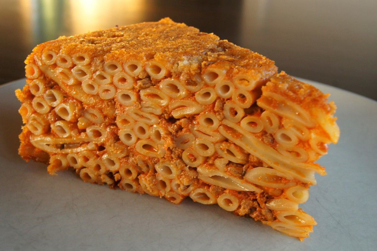 Timbale de macaronis