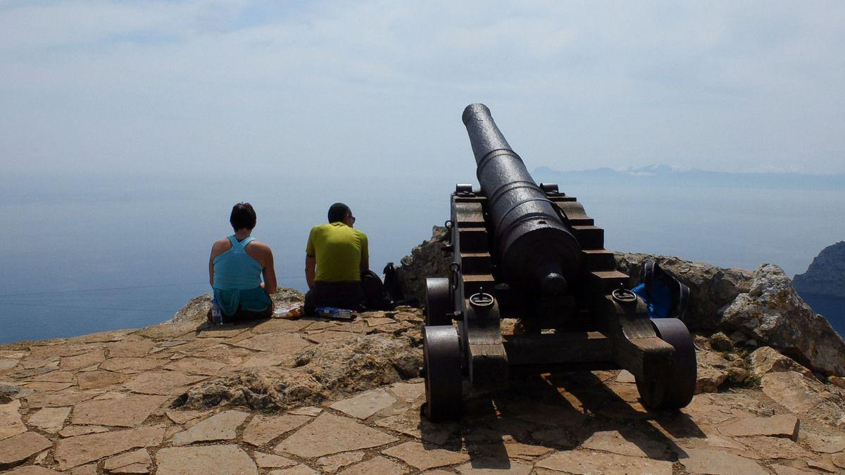 Randonnée du Mirador Penya del Migdia au cap Pinar.