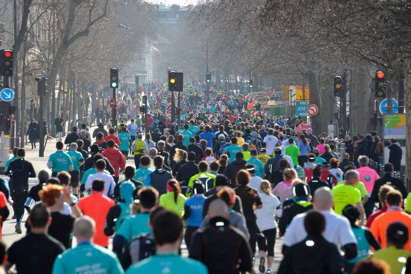 Au Semi-Marathon de Paris