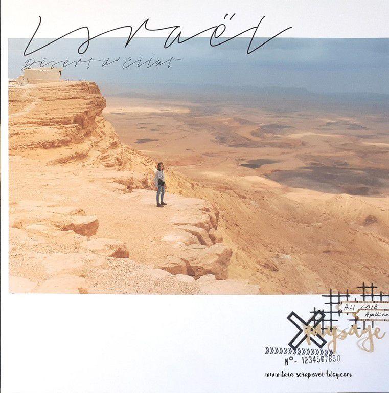 Israël désert d'Eilat