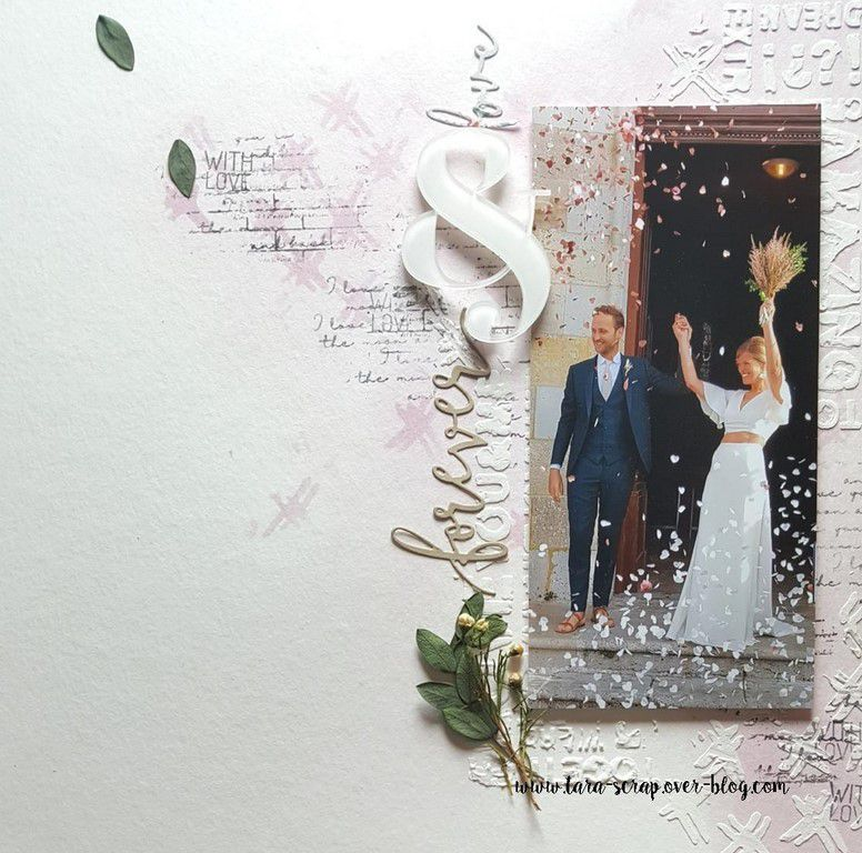 Mariage : 2 pages !