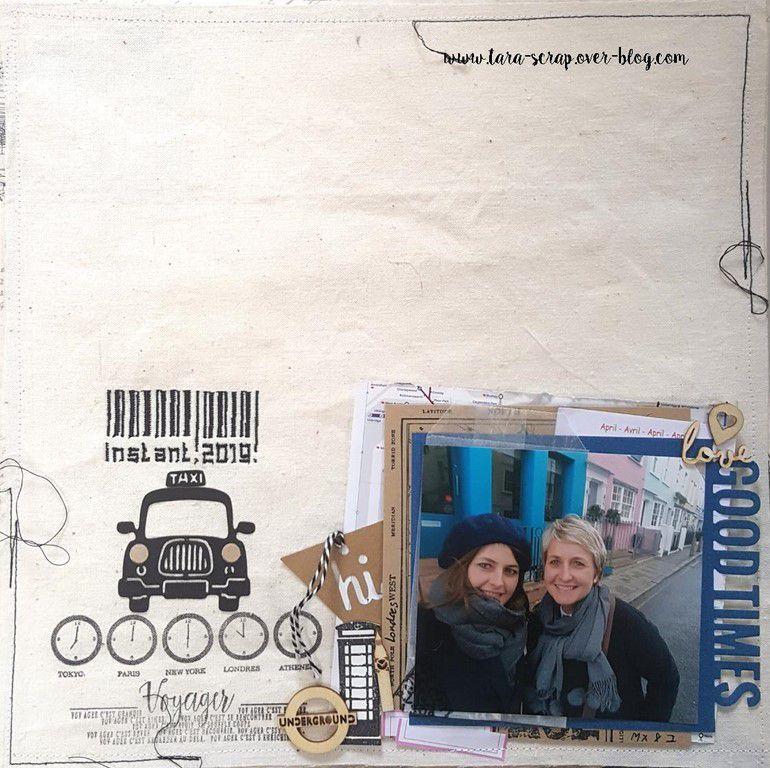 2 pages : JCS Sketch #395 et le défi 3 des ateliers d'Honorine